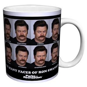 Many Faces of Ron Swanson