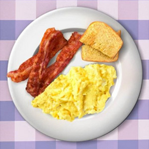 Ron Swanson's Actual Breakfast Poster