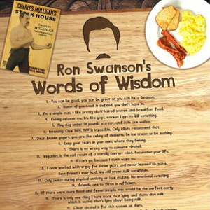 Ron Swanson's Words of Wisdom (Swanson'isms)