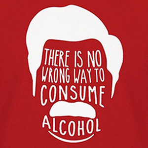No Wrong Way To Consume Alcohol