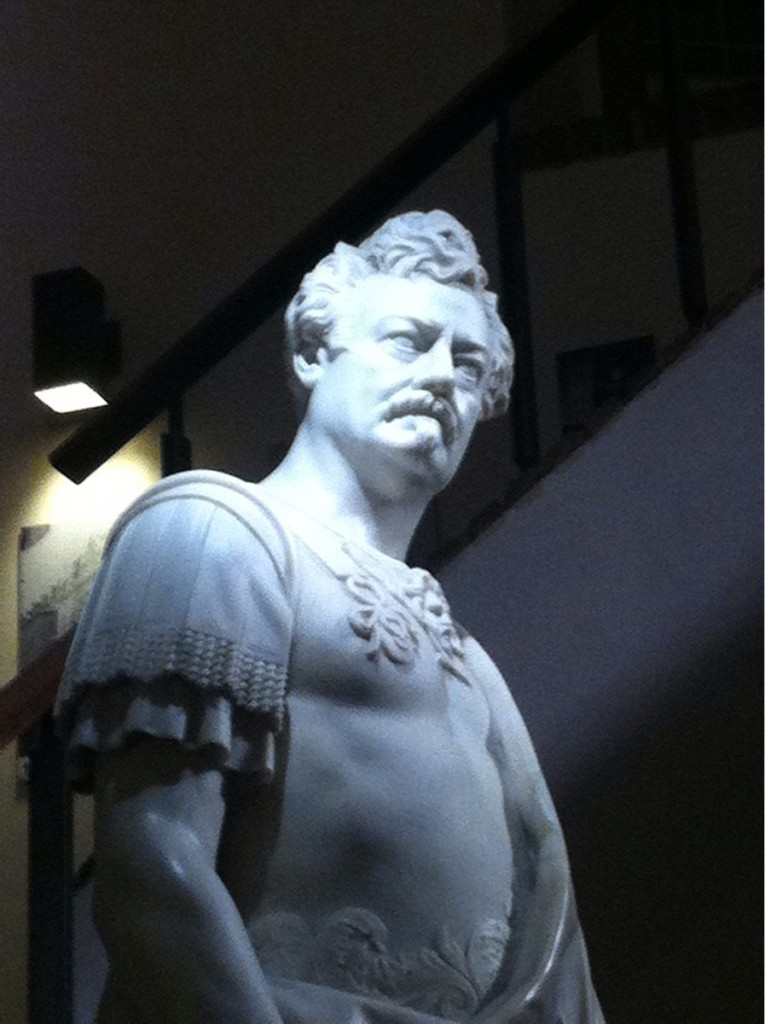 I found a majestic marble sculpture of Ron Swanson