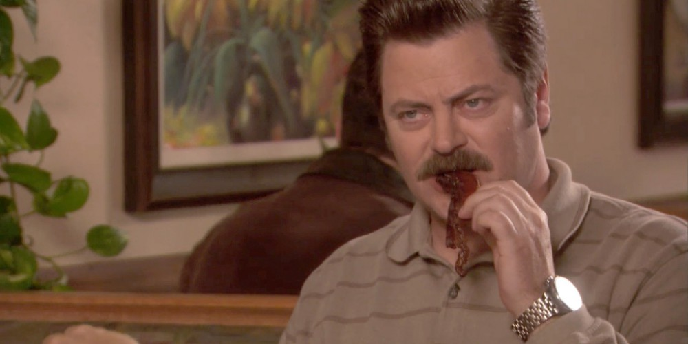 Extras: Ron Swanson Bacon Shortage PSA