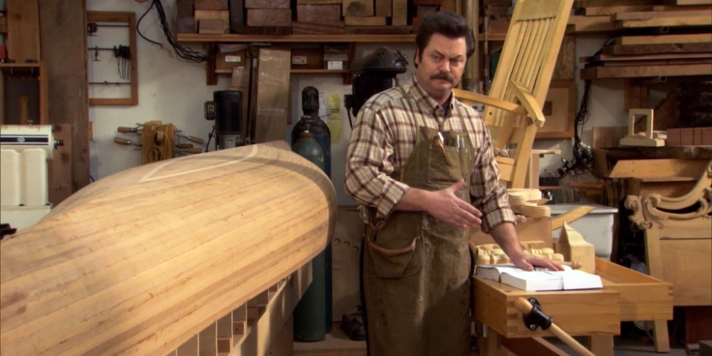 Extras: Canoeing with Ron Swanson Swanson