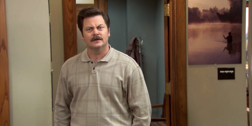 22 Reasons Ron Swanson Should Be Our Next President