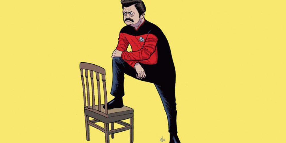 Ron Swanson Parks and Trek