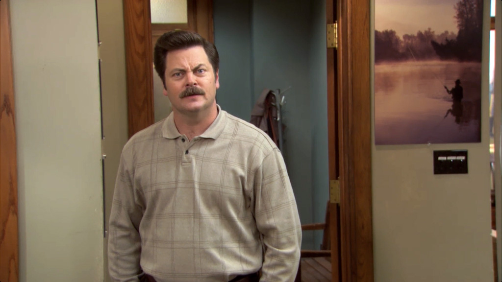 Ron Swanson Facts - Personal