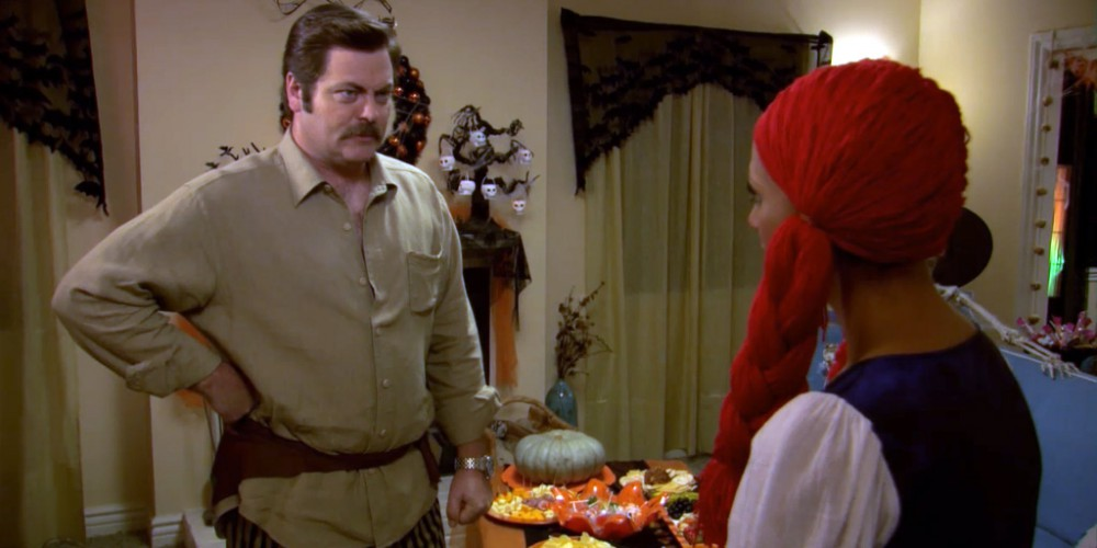 Ron Swanson is a pirate.