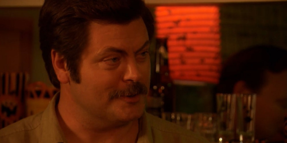 Ron Swanson does not like socialized medicine.