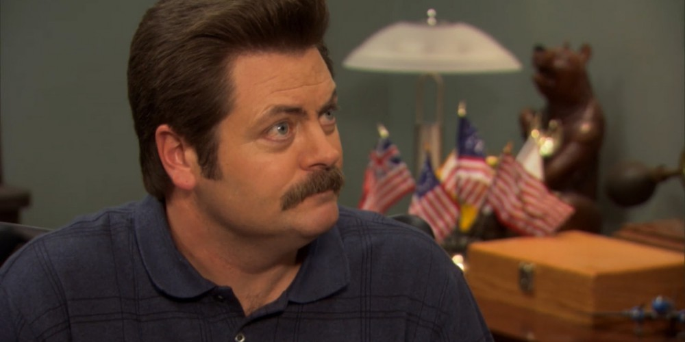 Ron Swanson has a no call policy.