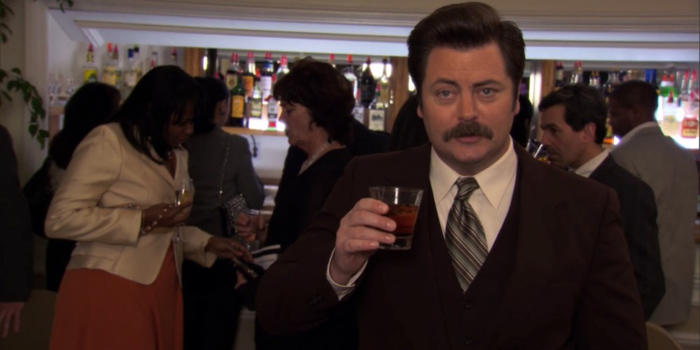 Ron Swanson thinks awards are stupid.
