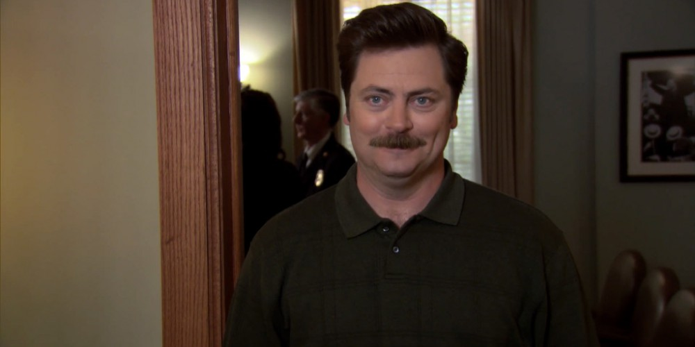 Saying that gave Ron Swanson a semi.