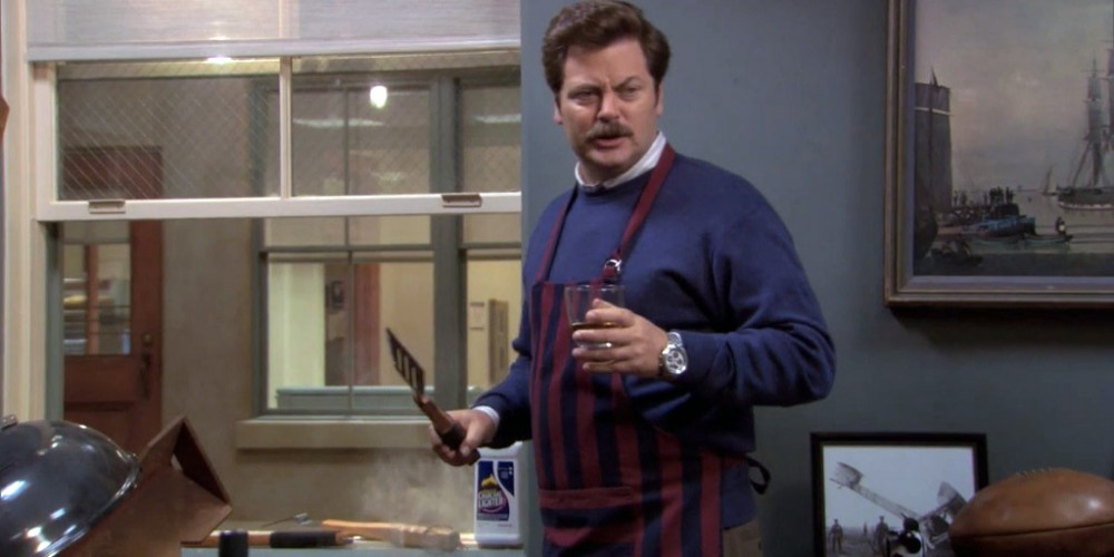Ron Swanson explains Libertarianism picture 1