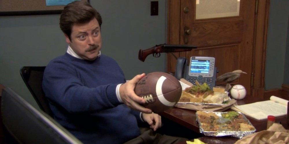 Ron Swanson Swanson's first Meat Tornado picture 3