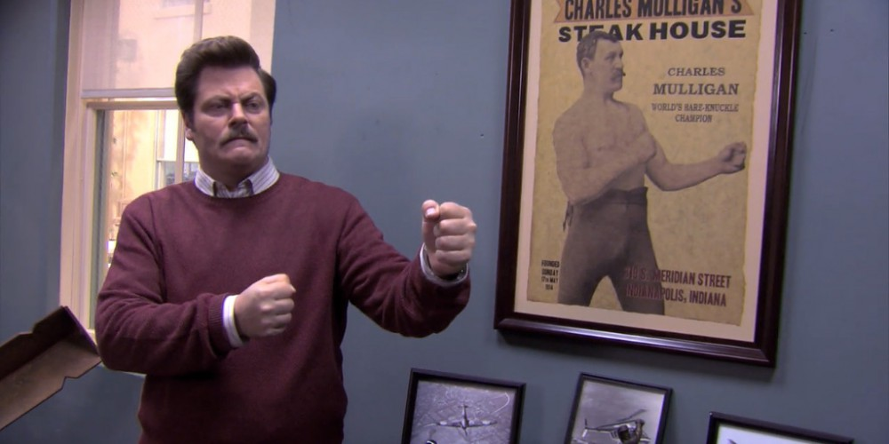 Ron Swanson Swanson's Mulligan's photo album picture 1