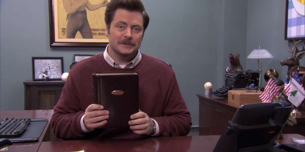 Ron Swanson Swanson's Mulligan's photo album picture 2