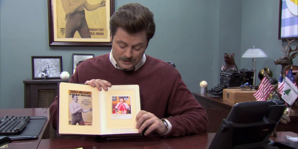 Ron Swanson Swanson's Mulligan's photo album picture 6