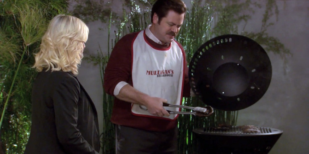 Ron Swanson is horrified by portabello mushrooms picture 2