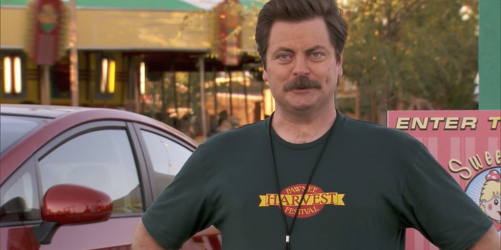 Ron Swanson wants a bratwurst