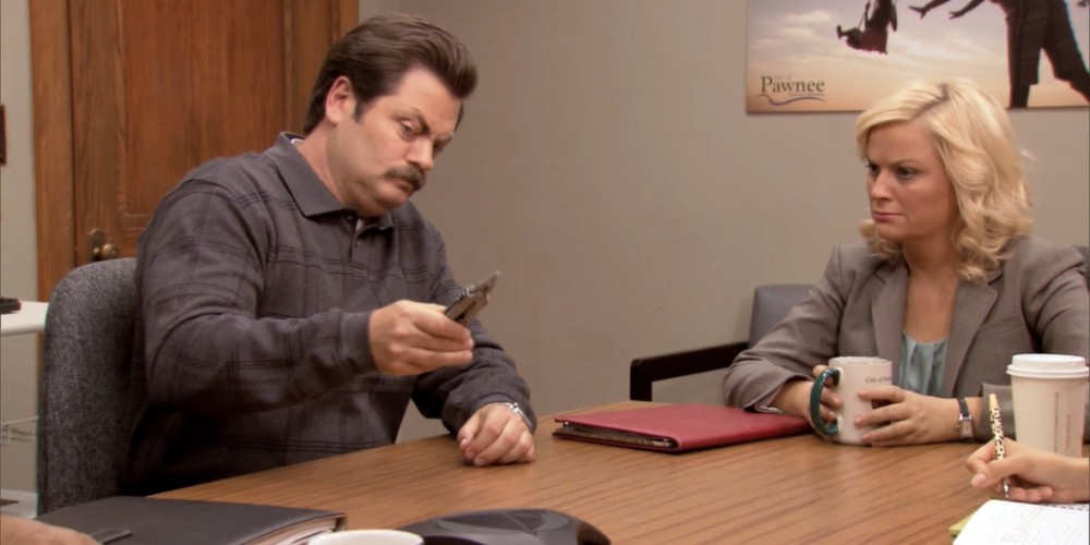 Ron Swanson pulled his own tooth out picture 1