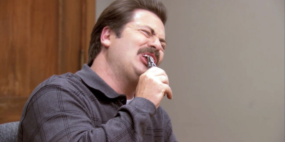 Ron Swanson pulled his own tooth out picture 3