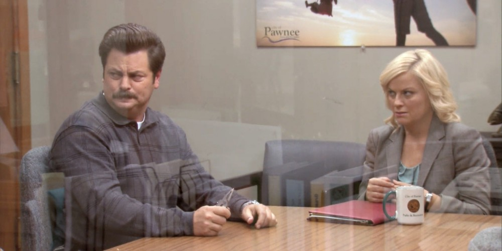 Ron Swanson pulled his own tooth out picture 6