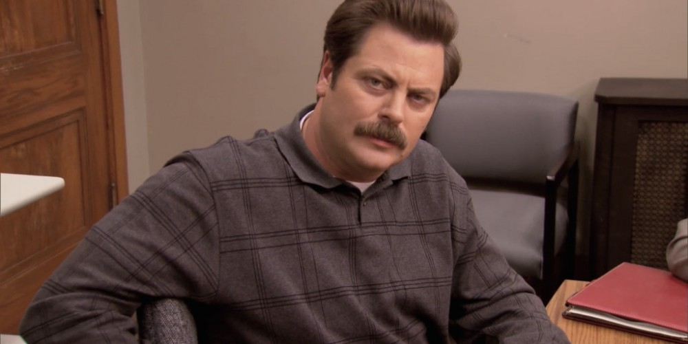 Ron Swanson pulled his own tooth out picture 8