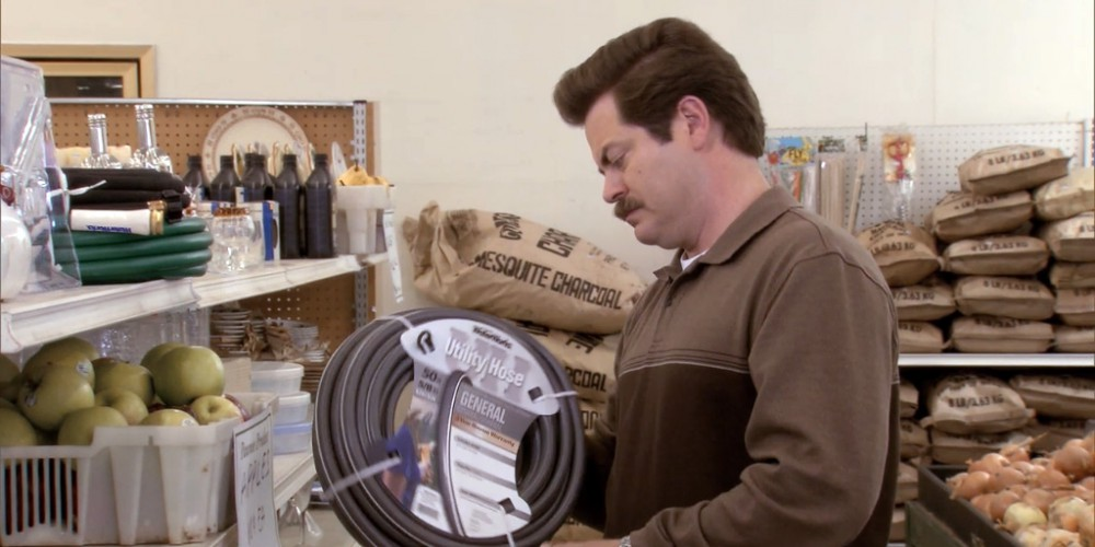 Ron Swanson shops at Food and Stuff picture 3