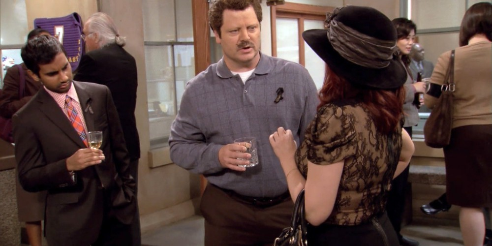 Ron Swanson prefers fireballs to Tammy picture 2