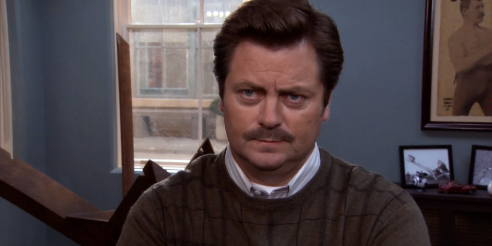Sometimes Ron Swanson likes to call people by the wrong name picture 1