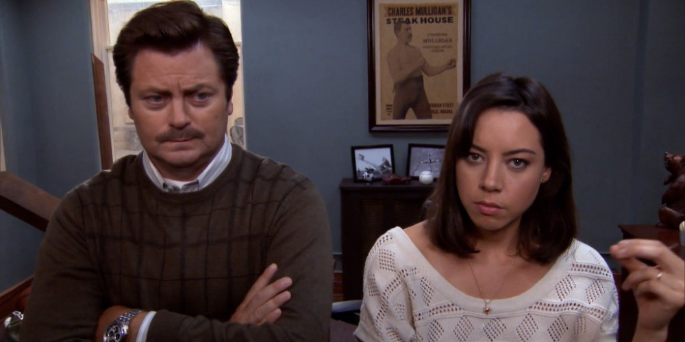 Sometimes Ron Swanson likes to call people by the wrong name picture 2