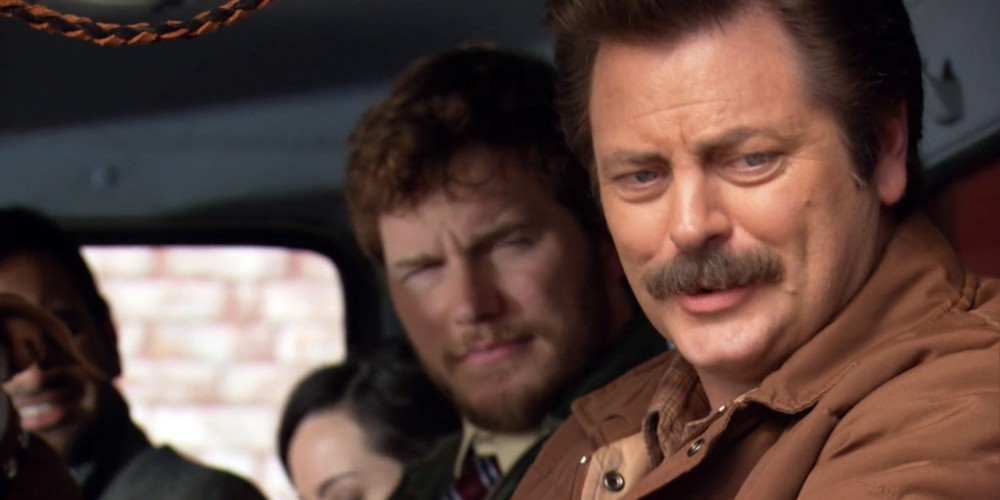 Ron Swanson wants to know what constitutes a law
