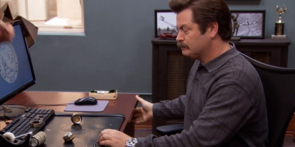 Ron Swanson helped Ben get the cryptext open picture 4