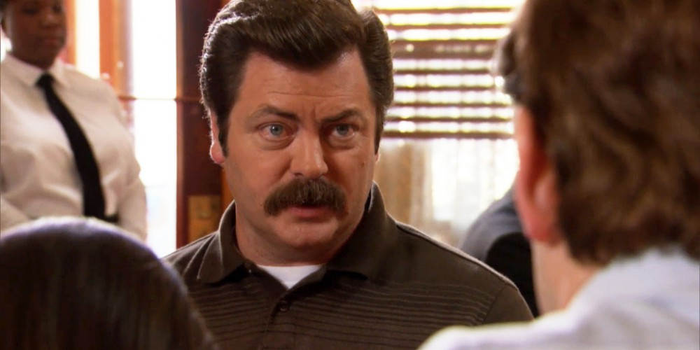 Ron Swanson explains his parents relationship.