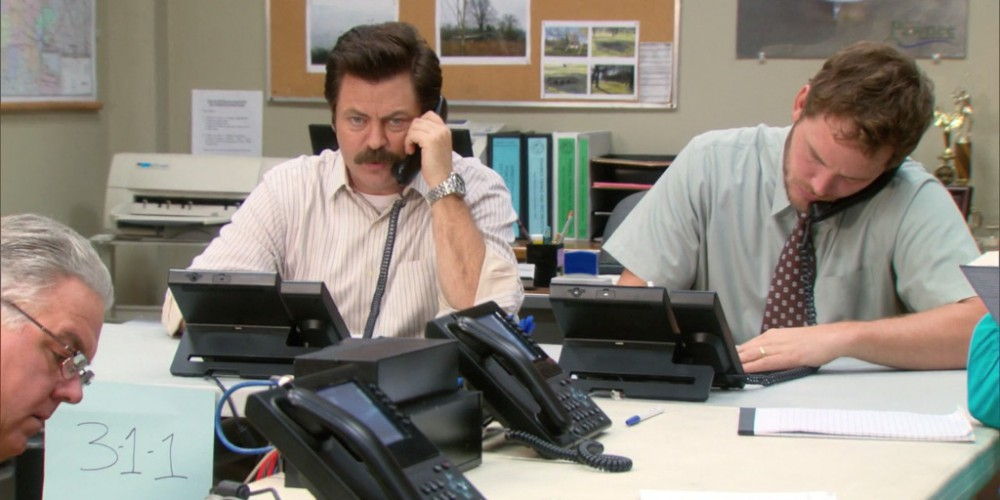 Ron Swanson explains how the government is inefficient