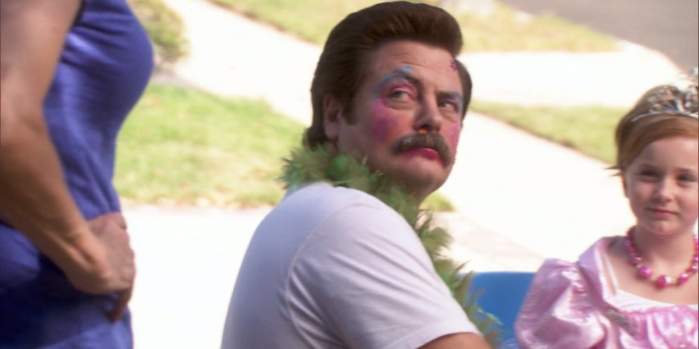 Ron Swanson the Princess picture2
