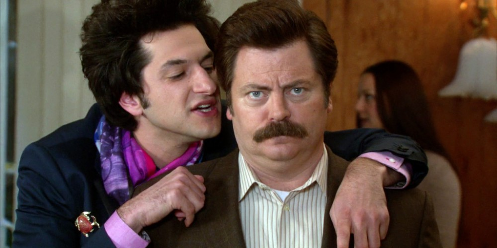 Ron Swanson and Jean Ralphio picture1