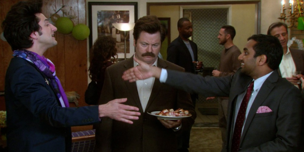 Ron Swanson and Jean Ralphio picture2