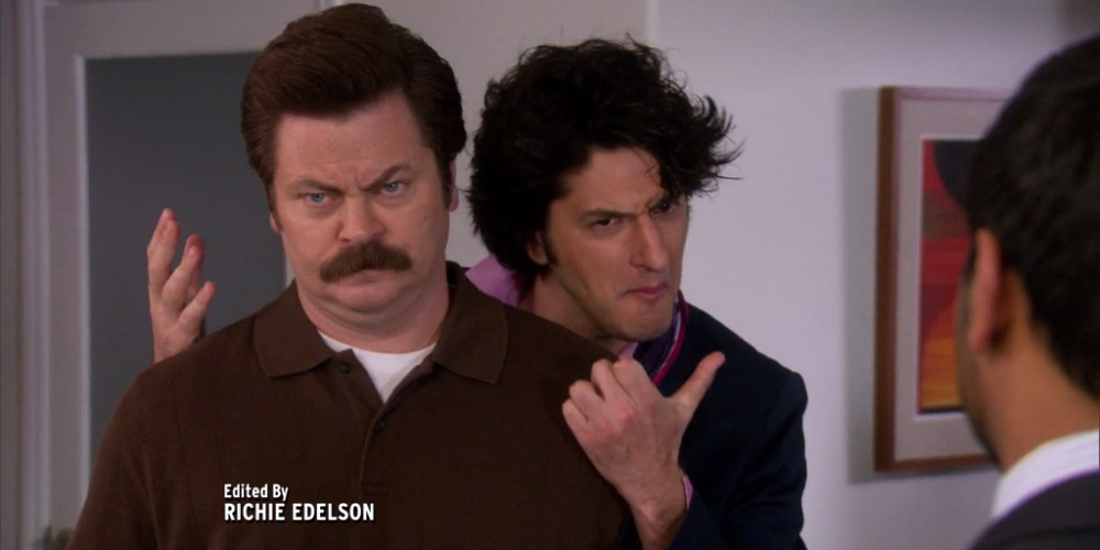 Ron Swanson and Jean Ralphio picture7