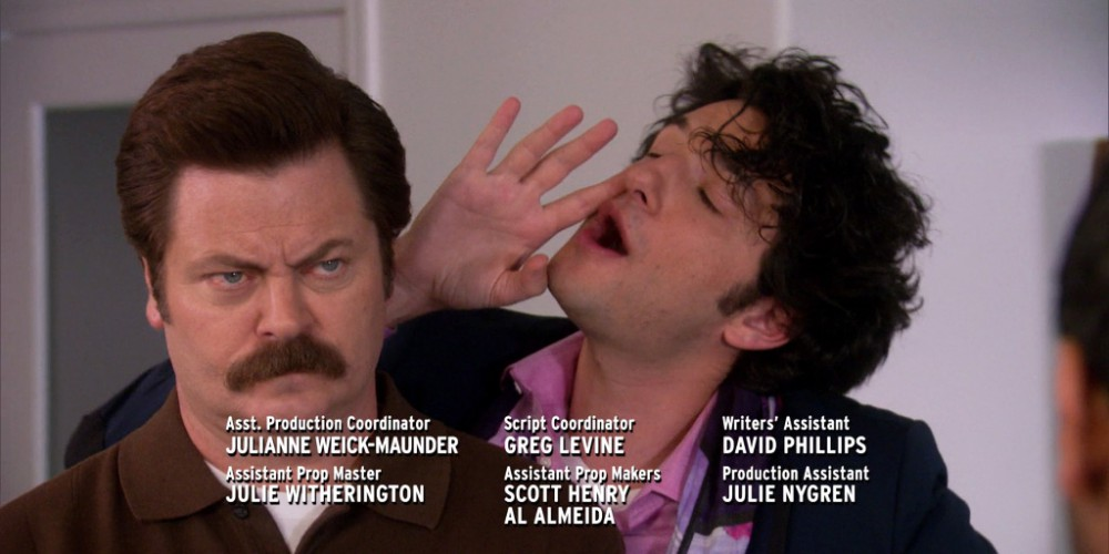 Ron Swanson and Jean Ralphio picture8
