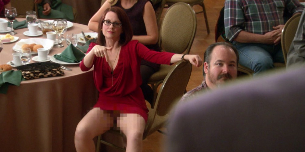 Ron Swanson gets distracted by Tammy Two picture4