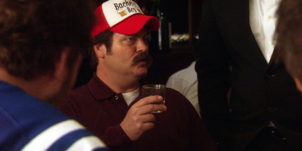 Ron Swanson would like four more glasses of Lagavulin in liquid form