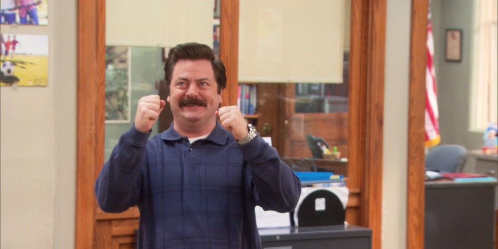 Ron Swanson was duped by the process server picture1