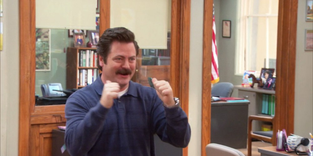 Ron Swanson was duped by the process server picture2