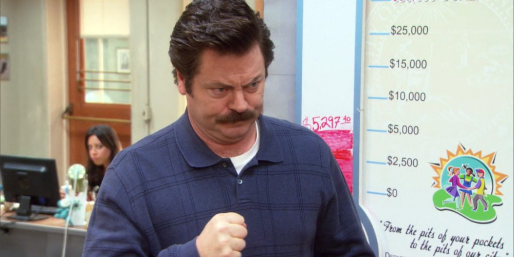 Ron Swanson was duped by the process server picture3