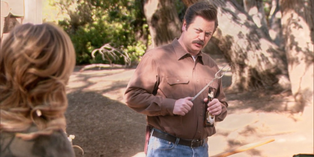 Ron Swanson is such a private person