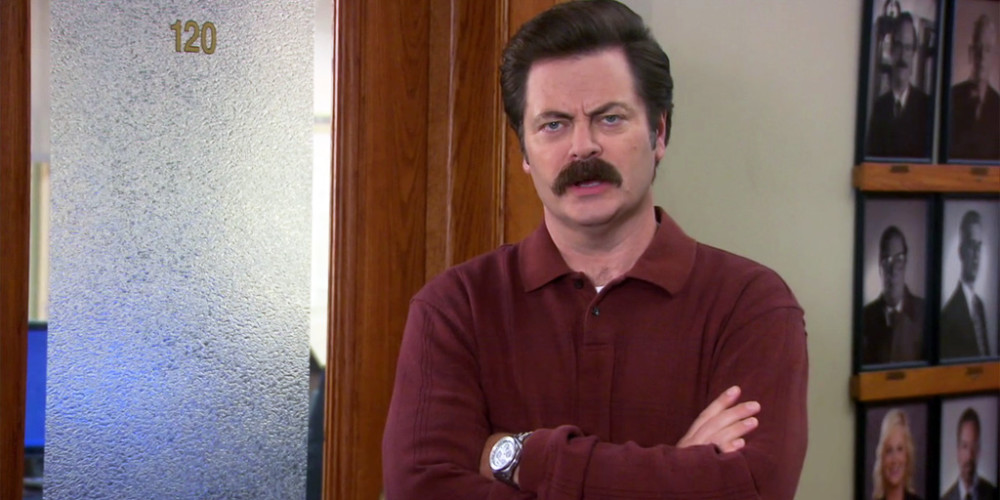 Ron Swanson no longer likes Ron Dunn