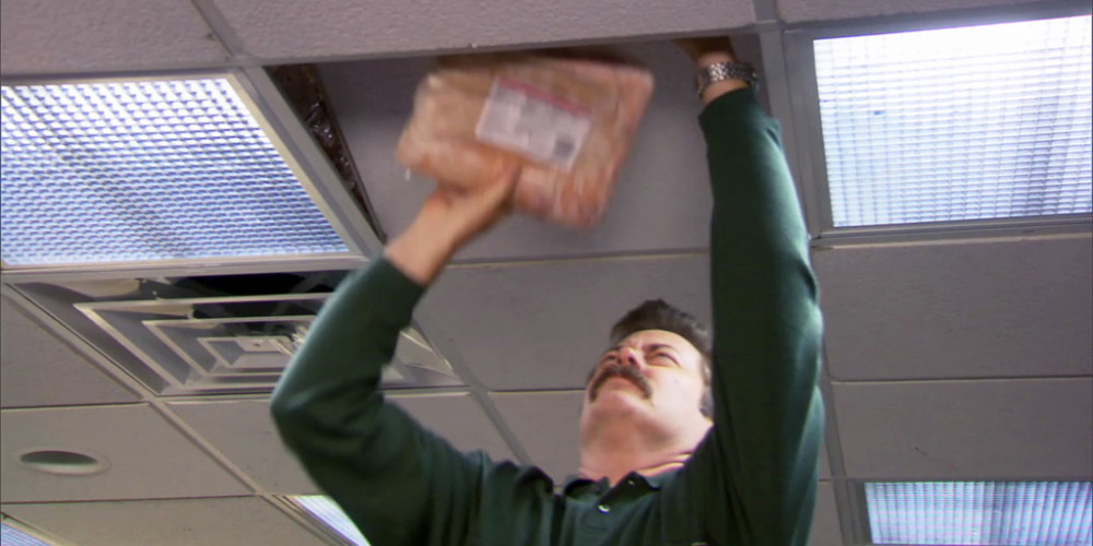 Where Ron Swanson hides his bacon picture2