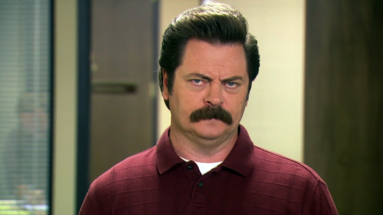 Ep 02 Ron and Jammy Geneva Convention Ron Swanson Quotes