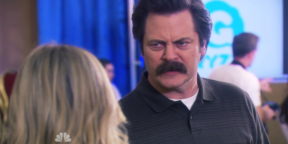 Ron Swanson hangs the ultimate insult on Leslie Knope