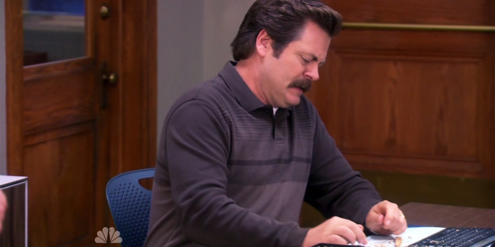 Ron Swanson We Didn't Start the Fire picture11